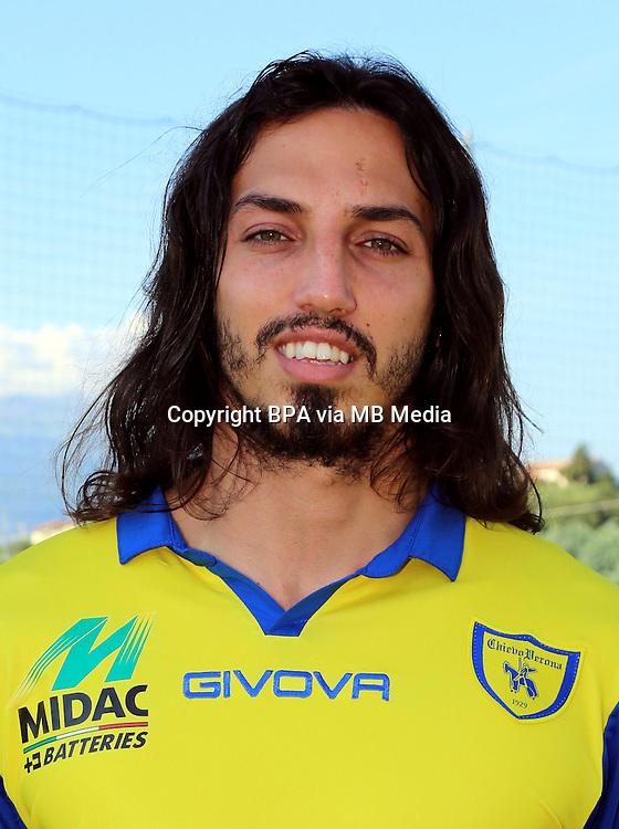 Italian League Serie A -2014-2015 / <br /> ( AC Chievo Verona  ) - <br /> Ezequiel Matias Schelotto &quot; Ezequiel Schelotto &quot;