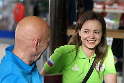 Ziva Dvorsak with Slovenian Paralympic team at presentation of Slovenian Olympic Team for Rio 2016, on July 22, 2016 in Koper, Slovenia. Photo by Matic Klansek Velej / Sportida