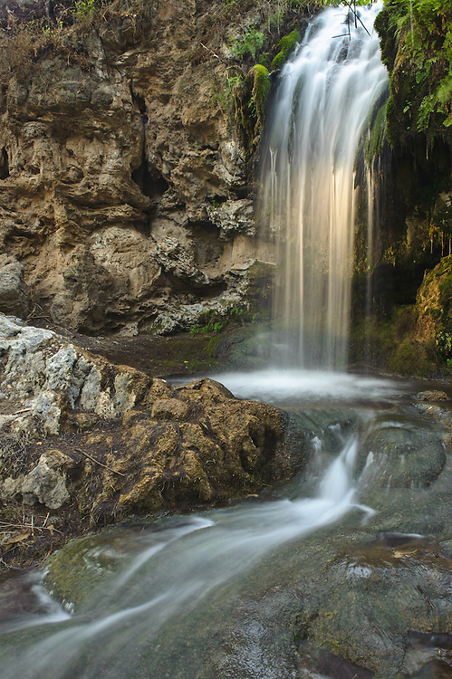 Cascada en la Barranca de San Quint&iacute;n<br /> Cuenca alta del r&iacute;o San Pedro Mezquital.<br /> Durango, Mexico
