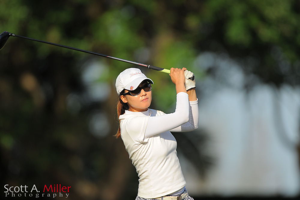 Seira Nakashima during the second round of the Symetra Tour's Florida's Natural Charity Classic at the Lake Region Yacht and Country Club on March 24, 2012 in Winter Haven, Fla. ..©2012 Scott A. Miller.