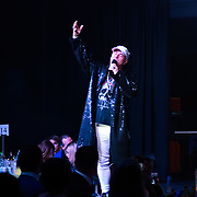 Tony Moore performs at the Grand Final MISS USSR UK 2019 at Hilton hotel London on 27 April 2019, London, UK.