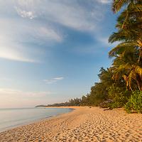 The beach at Tanjong Jara Resort, Terengganu, Malaysia.