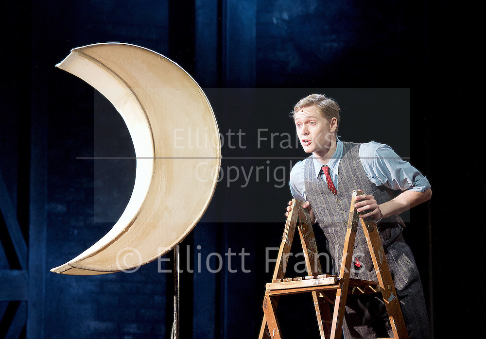 Mrs Henderson Presents <br /> at The Noel Coward Theatre, London, Great Britain <br /> press photocall <br /> 12th February 2016 <br /> <br /> Matthew Malthouse as Eddie<br /> <br /> Photograph by Elliott Franks <br /> Image licensed to Elliott Franks Photography Services