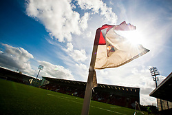 Airdrie United play their home fixtures at the Excelsior Stadium, Airdrie, unofficially known as New Broomfield..Airdrie United 1 v 5 Cowdenbeath, 20th August 2011..© pic : Michael Schofield.