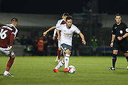 Ander Herrera Midfielder of Manchester United during the EFL Cup Third Round match between Northampton Town and Manchester United at Sixfields Stadium, Northampton, England on 21 September 2016. Photo by Phil Duncan.