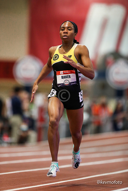 2020 USATF Indoor Championship<br /> Albuquerque, NM 2020-02-14<br /> photo credit: © 2020 Kevin Morris<br /> womens 800m heats, CPTC, NB, New Balance