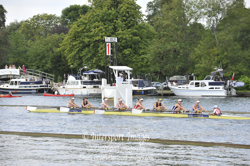 Henley, Great Britain.  The Remenham Challenge Cup. GBR W8+  Henley Royal Regatta. River Thames Henley Reach.  Royal Regatta. River Thames Henley Reach.  Saturday  02/07/2011  [Mandatory Credit  Peter Spurrier/ Intersport Images] . HRR