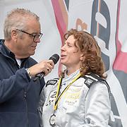 NLD/Zandvoort/20180520 - Jumbo Race dagen 2018, Olav Mol in gesprek met Barbara Barend