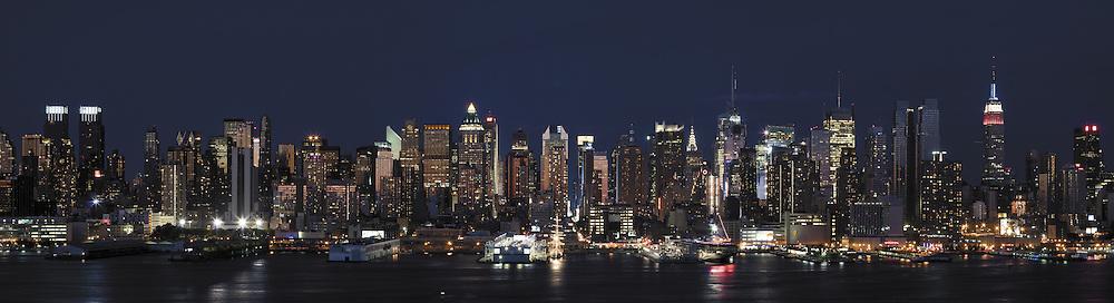 Night on Hudson River