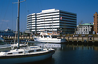 Waterfront, Norfolk, Virginia, USA, 19880504NV2..Copyright Image from Victor Patterson, 54 Dorchester Park, Belfast, UK, BT9 6RJ..Tel: +44 28 9066 1296.Mob: +44 7802 353836.Voicemail +44 20 8816 7153.Skype: victorpattersonbelfast.Email: victorpatterson@me.com.Email: victorpatterson@ireland.com (back-up)..IMPORTANT: If you wish to use this image or any other of my images please go to www.victorpatterson.com and click on the Terms & Conditions. Then contact me by email or phone with the reference number(s) of the image(s) concerned.
