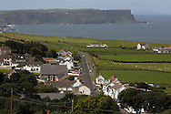 view on ballintoy town