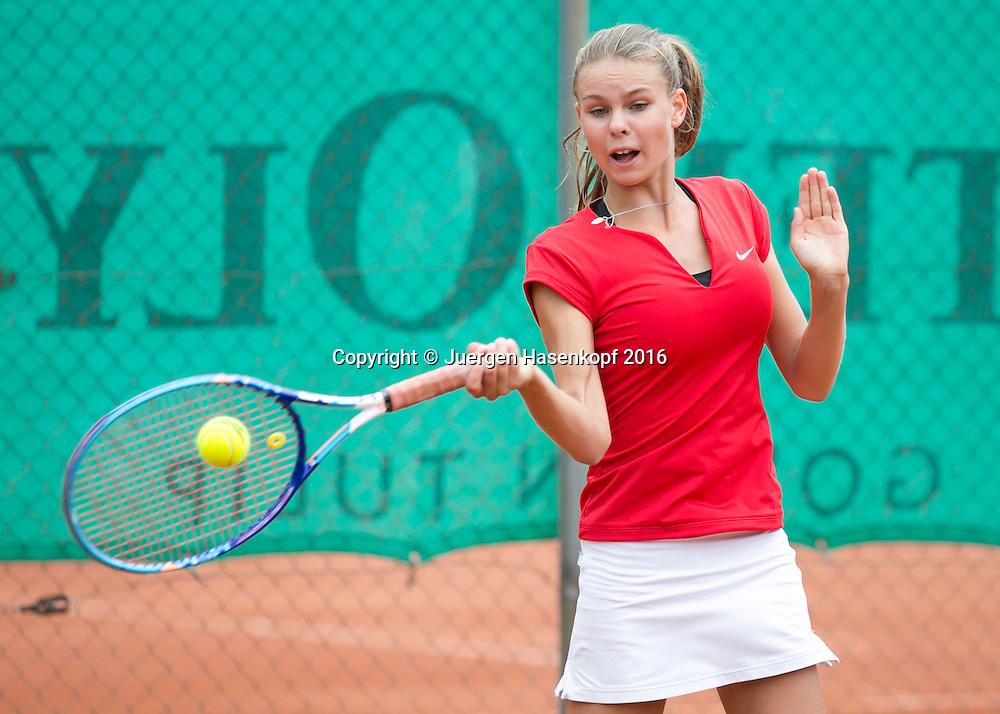 Tennis Europe-Bavarian Junior Open, Laura Susane (LAT) GS16<br /> <br /> Tennis - Bavarian Junior Open 2016 - Tennis Europe Junior Tour -  SC Eching - Eching - Bayern - Germany  - 9 August 2016. <br /> &copy; Juergen Hasenkopf