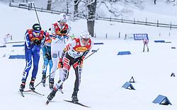 16.12.2017, Nordische Arena, Ramsau, AUT, FIS Weltcup Nordische Kombination, Langlauf, im Bild Franz-Josef Rehrl (AUT) // Franz-Josef Rehrl of Austria during Cross Country Competition of FIS Nordic Combined World Cup, at the Nordic Arena in Ramsau, Austria on 2017/12/16. EXPA Pictures © 2017, PhotoCredit: EXPA/ Martin Huber