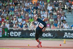 OVCHAROV Dechko, BUL, Javelin, F42, 2013 IPC Athletics World Championships, Lyon, France