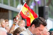 Flag Spain<br /> FEI European Championships 2019<br /> © DigiShots