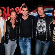 NLD/Hoofddorp /20130326 - Perspresentatie Bloed, Zweet & Tranen, Dre Hazes, Danny de Munk, Jeroen van der Boom, Gerard Joling, Roxeanne Hazes