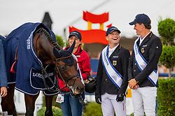 Jung Michael, GER, Fischer Chipmunk FRH, Rüder Kai <br /> European Championship Eventing<br /> Luhmuhlen 2019<br /> © Hippo Foto - Stefan Lafrentz<br /> 01/09/2019