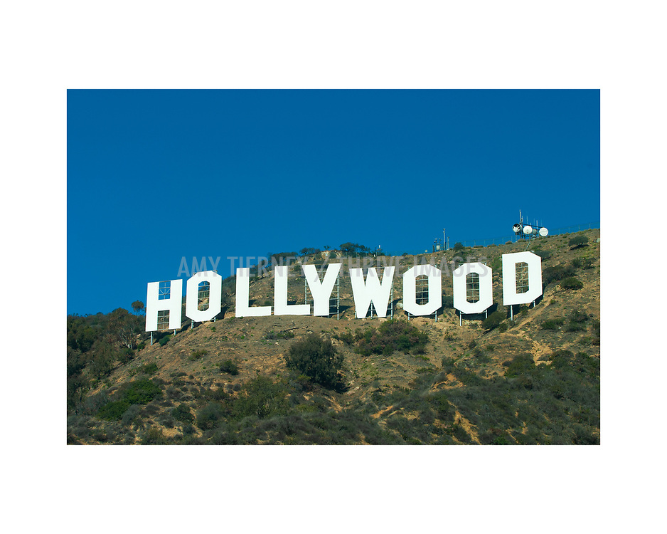 Hollywood Sign by Amy Tierney, November 11, 2007
