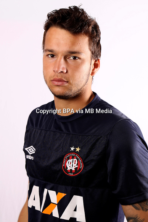 "Brazilian Football League Serie A / <br /> ( Clube Atletico Paranaense ) - <br /> Lucas Macanhan Ferreira "" Lucas Macanhan """