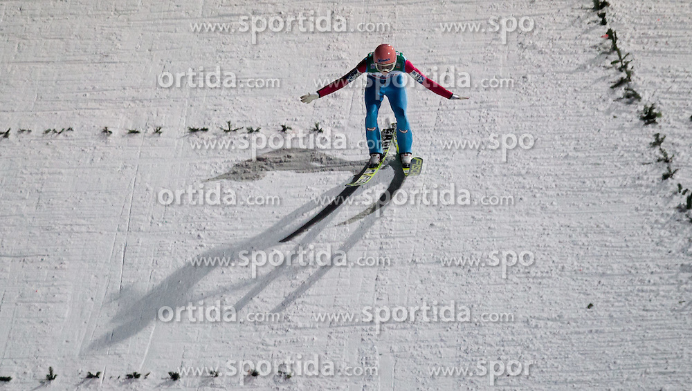 06.01.2015, Paul Ausserleitner Schanze, Bischofshofen, AUT, FIS Ski Sprung Weltcup, 63. Vierschanzentournee, Finale, im Bild Gesamtsieger Stefan Kraft (AUT) // Stefan Kraft of Austria during Final Jump of 63rd Four Hills <br /> Tournament of FIS Ski Jumping World Cup at the Paul Ausserleitner Schanze, Bischofshofen, Austria on 2015/01/06. EXPA Pictures &copy; 2015, PhotoCredit: EXPA/ JFK