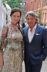 Leon & Yana Max at the V&A Summer Party 2017 held at the Victoria & Albert Museum, London England. 21 June 2017.<br /> Photo by Dominic O'Neill/SilverHub 0203 174 1069 sales@silverhubmedia.com