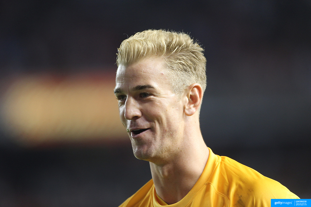Joe Hart, Manchester City during the Manchester City Vs Liverpool FC Guinness International Champions Cup match at Yankee Stadium, The Bronx, New York, USA. 30th July 2014. Photo Tim Clayton
