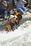 Nick Troutman competes during the reno river festival