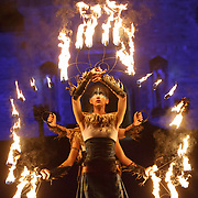 Scotland's pioneering Celtic fire theatre company, PyroCeltica, and the Harbinger Drum Crew leading Edinburgh's famous Torchlight Procession down the Royal Mile kicking off three days of celebrations in Scotland's capital.Edinburgh, Britain, 30 December 2019. EPA-EFE/ROBERT PERRY