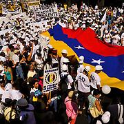 23 JANUARY IN VENEZUELA - VENEZUELA / MARCHAS DEL 23 DE ENERO - VENEZUELA