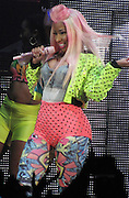 24.JUNE.2012. LONDON<br /> <br /> NICKI MINAJ PERFORMING AT HER CONCERT AT THE HAMMERSMITH APOLLO WHERE SHE GOT CHANGED INTO 4 OUTFITS DURING THE SHOW.<br /> <br /> BYLINE: EDBIMAGEARCHIVE.CO.UK<br /> <br /> *THIS IMAGE IS STRICTLY FOR UK NEWSPAPERS AND MAGAZINES ONLY*<br /> *FOR WORLD WIDE SALES AND WEB USE PLEASE CONTACT EDBIMAGEARCHIVE - 0208 954 5968*