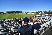 Clear blue skies and sunshine during the Specsavers County Champ Div 1 match between Somerset County Cricket Club and Worcestershire County Cricket Club at the Cooper Associates County Ground, Taunton, United Kingdom on 20 April 2018. Picture by Graham Hunt.