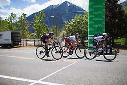 Coryn Rivera (USA) of Team Sunweb wins the sprint for second place in the intermediate sprint on Stage 2 of the Amgen Tour of California - a 108 km road race, starting and finishing in South Lake Tahoe on May 18, 2018, in California, United States. (Photo by Balint Hamvas/Velofocus.com)