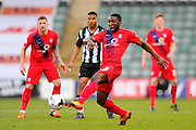 York City's Femi Ilesanmi during the Sky Bet League 2 match between Plymouth Argyle and York City at Home Park, Plymouth, England on 28 March 2016. Photo by Graham Hunt.