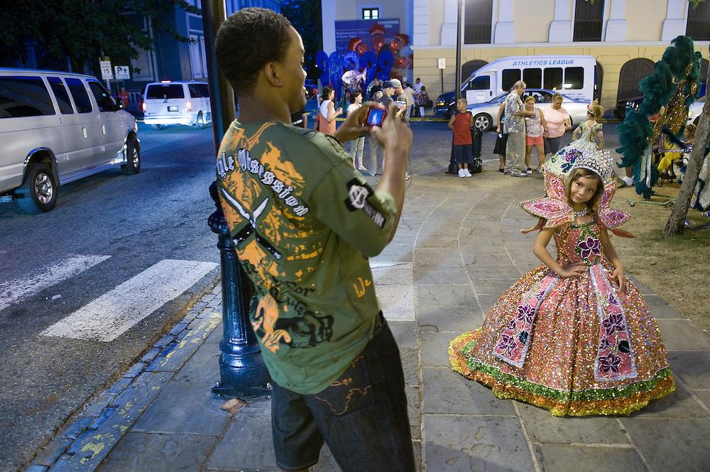 Col&oacute;n square.<br /> Old San Juan, Puerto Rico.