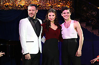 Will Young, Zizi Strallen, Jonny Labey, Strictly Ballroom The Musical - Photocall, Café de Paris, London UK, 14 February 2018, Photo by Richard Goldschmidt