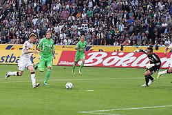 19.08.2011,  BorussiaPark, Mönchengladbach, GER, 1.FBL, Borussia Mönchengladbach vs Vfl Wolfsburg, im Bild.Tor zum 1:1 durch Marco Reuss (Mönchengladbach #11) (L) gegen Diego Benaglio (Torwart Wolfsburg) (R) und Marco Russ (Wolfsburg #23) (M)..// during the 1.FBL, Borussia Mönchengladbach vs Vfl Wolfsburg on 2011/08/19, BorussiaPark, Mönchengladbach, Germany. EXPA Pictures © 2011, PhotoCredit: EXPA/ nph/  Mueller *** Local Caption ***            ****** out of GER / CRO  / BEL ******