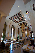 Emirates Palace Hotel. 7 Star luxury, state-owned and managed by Kempinski. Diwan L'Auberge Lebanese restaurant...
