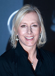 © Licensed to London News Pictures. 06/02/2012. London, UK. Martina navratilova arriving on the red carpet for the Laureus World Sports Awards 2012. Dozens of sports and Hollywood celebrities arrived in the English capital to attend the event held at the Queen Elizabeth II Conference Centre in the same year that London will host the Olympic Games. Photo credit : Ben Cawthra/LNP