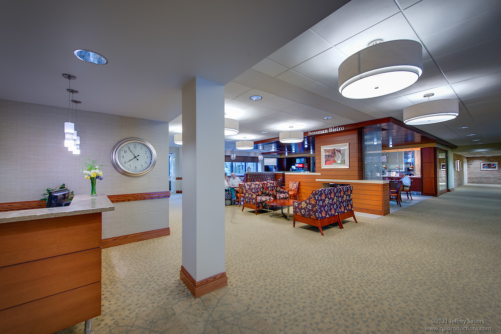 Interior image of  Integrace Fairhaven in Sykesville Maryland by Jeffrey Sauers of Commercial Photographics, Architectural Photo Artistry in Washington DC, Virginia to Florida and PA to New England