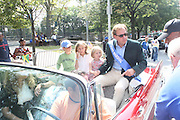 Mark Cornell, President, Hennessey USA and Family at the 42nd Annual West Indian Day Carnival along Eastern Parkway on September 7, 2009 in Brooklyn, NY