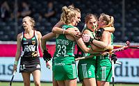 ANTWERP - BELFIUS EUROHOCKEY Championship.women  Ireland-Gemany (1-1).  Germany placed for semifinals . Ireland scored. celebrating the goal.    WSP/ KOEN SUYK