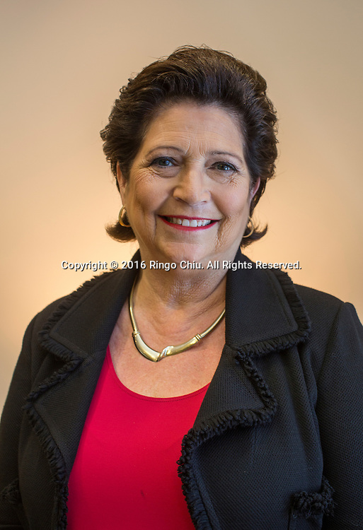 Gloria Nelund co-founded TriLinc Global in Manhattan Beach California.<br /> (Photo by Ringo Chiu)<br /> (Photo by Ringo Chiu/PHOTOFORMULA.com)<br /> <br /> Usage Notes: This content is intended for editorial use only. For other uses, additional clearances may be required.