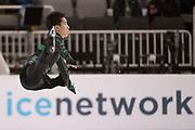 January 4, 2018; San Jose, CA, USA; Tomoki Hiwatashi performs in the mens short program during the 2018 U.S. Figure Skating Championships at SAP Center.