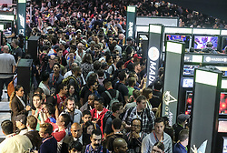 June 13, 2017 - Los Angeles, California, U.S - The 2017 Electronic Entertainment Expo (E3) takes place at the Los Angeles Convention Center on June 13, 2017. (Credit Image: © Ringo Chiu via ZUMA Wire)