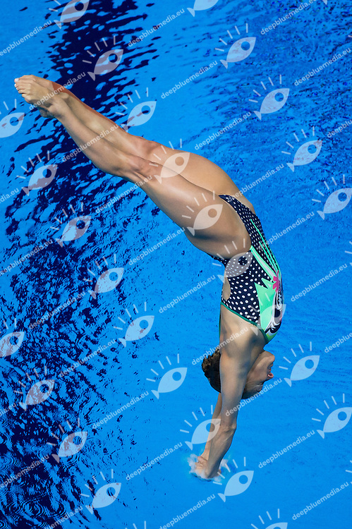 CAGNOTTO Tania ITA bronze medal<br /> Diving - Women's 3m Springboard final<br /> Day 09 01/08/2015<br /> XVI FINA World Championships Aquatics Swimming<br /> Kazan Tatarstan RUS July 24 - Aug. 9 2015 <br /> Photo Giorgio Perottino/Deepbluemedia/Insidefoto