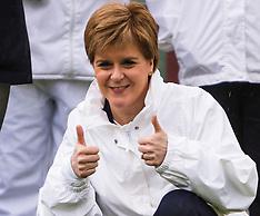 Nicola Sturgeon bowls along | Edinburgh | 20 May 2017