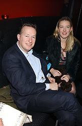 ORLANDO FRASER and DAISY PRINCE at a preview of Lulu Guinness's new Handbag Collection ' Couture' held at Aviva, Baglioni Hotel, 60 Hyde Park Gate, London SW7 on 15th February 2006.<br />