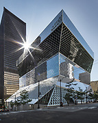 Iconic Seattle Central Library (Steve Ringman / The Seattle Times)
