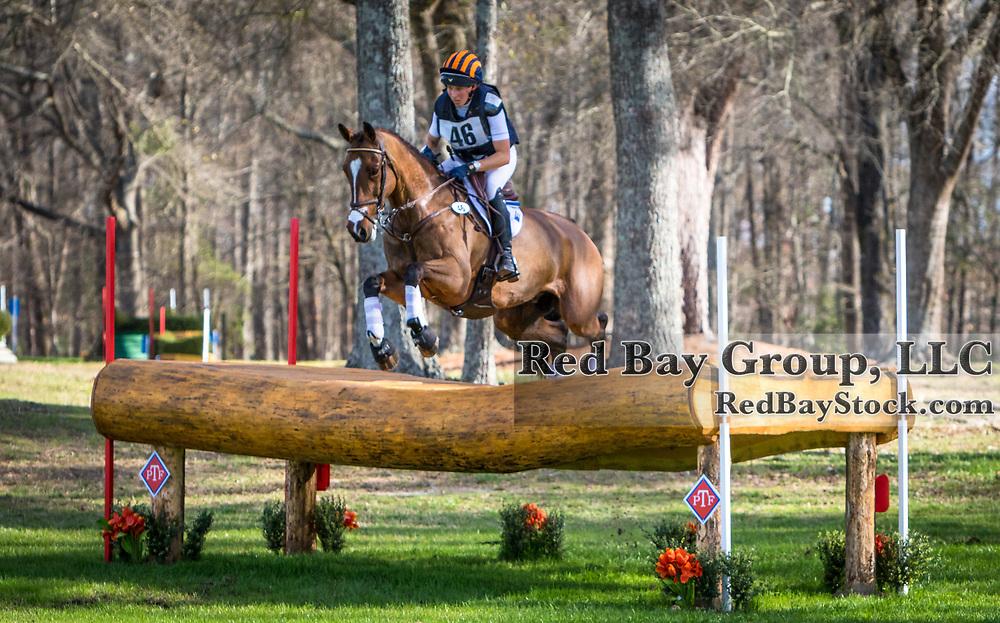 Liz Halliday-Sharp (USA) and Deniro Z at Pine Top Advanced Horse Trials in Thomson, GA.