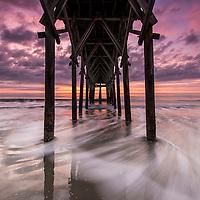 Taken under Pier 14 on December 28, 2014, at 7:16 AM. 3 minutes before sunrise. Temp: 61°.